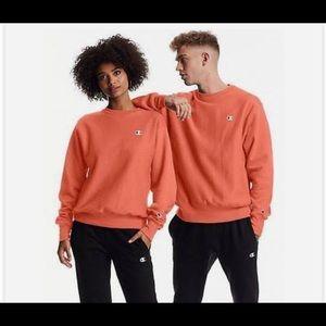 "Champion Orange ""Groovy Papaya"" XS Sweater"